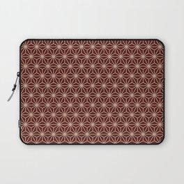 Asanoha (Red) Japan  Laptop Sleeve