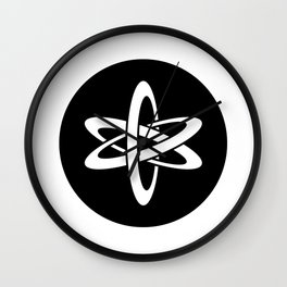 Science Ideology Wall Clock