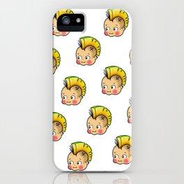 Punky Baby Kewpie iPhone Case