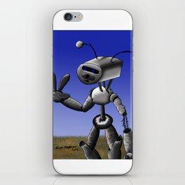 Mr Robo iPhone Skin