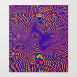 Crzy Canvas Print