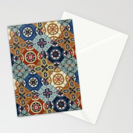 DESEO spanish tiles Stationery Cards