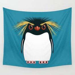 Rockhopper Penguin Wall Tapestry