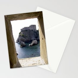 View from the Walls of Dubrovnik Stationery Cards