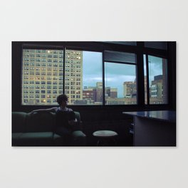 Paused Canvas Print