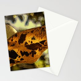 Leaf with Apple Stationery Cards