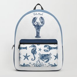 Lobster Tide Pool habitat Backpack