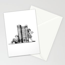 The Joy of Reading Stationery Cards