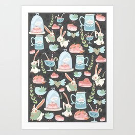 Bunny World Art Print