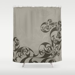Anglo-Saxon Mirror Shower Curtain