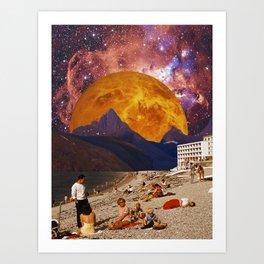 Warmth of the sun Art Print