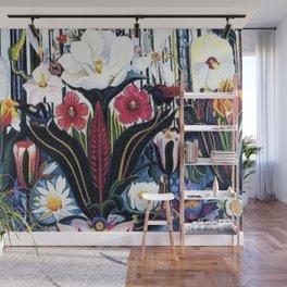 Italians Wildflowers by Joseph Stella Wall Mural