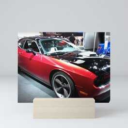 2014 Auto Show Prototype Scat Pack Two Tone Challenger with shaker hood Mini Art Print