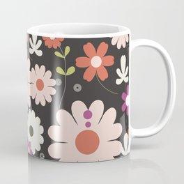 Flowers: Royal black Coffee Mug