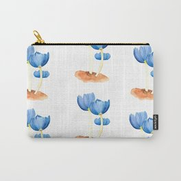 Blue fungi Carry-All Pouch