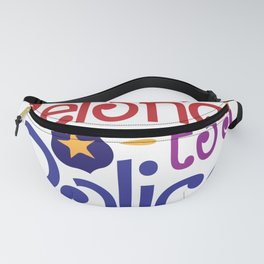 My Heart Belongs to a Police Officer Fanny Pack