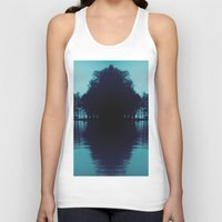 finland Tank Tops featuring Finland Mysteries by Onaaa