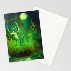 Green Fox Stationery Cards