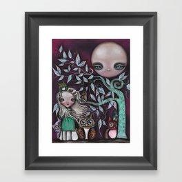 Night Creatures Framed Art Print