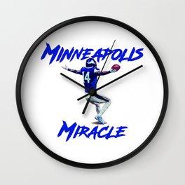 Minnesota Miracle Wall Clock