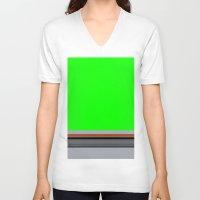 luke hemmings V-neck T-shirts featuring Luke by Jake Bjeldanes