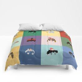 Miyazaki's world. Comforters