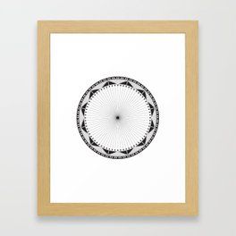 Circle Pattern 228 Framed Art Print