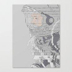 Alan Shepard Canvas Print