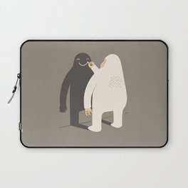Smile my shadow Laptop Sleeve