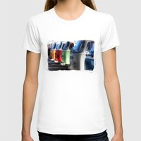vans T-shirts featuring Hippy Vans by Barbo's Art