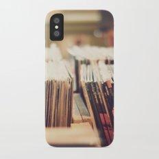 vinyl iPhone X Slim Case