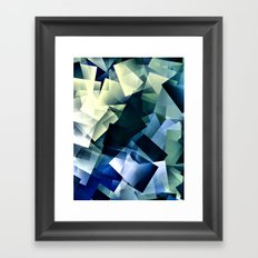 Post it Framed Art Print