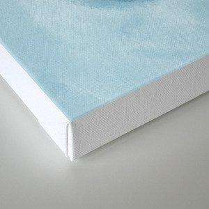 Flat White Canvas Print