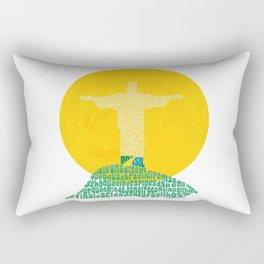 Cristo Redentor - Rio de Janeiro Rectangular Pillow