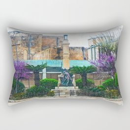 Trapani art 12 Sicily Rectangular Pillow