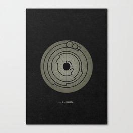 Barbury Castle Crop Circle Canvas Print