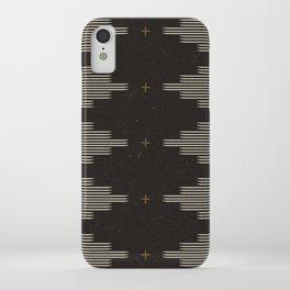 Southwestern Minimalist Black & White iPhone Case