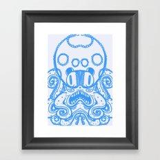 Fat Squid Framed Art Print