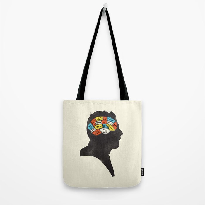 Shaun Phrenology Tote Bag