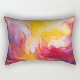 Sunset in Pink Rectangular Pillow