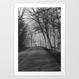 On Assignment: Controled Burn Art Print