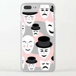 Mime Magic Clear iPhone Case