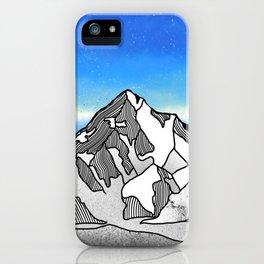 K2 MOUNTAIN LANDSCAPE iPhone Case