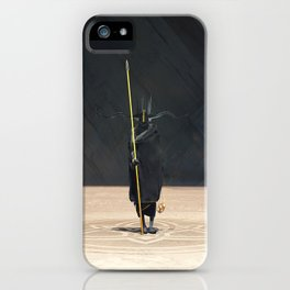 Golden Witch Doctor iPhone Case