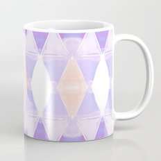 Art Deco Triangles Light Purple Coffee Mug