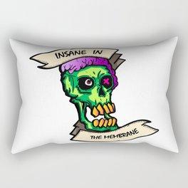 Insane Zombie Rectangular Pillow