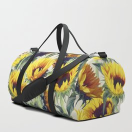 Sunflowers Forever Duffle Bag