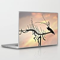 selena gomez Laptop & iPad Skins featuring Dragon by Menchulica