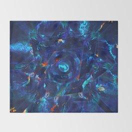 Parthéna (Abstract 51) Throw Blanket