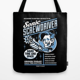 Sonic Screwdriver Tote Bag